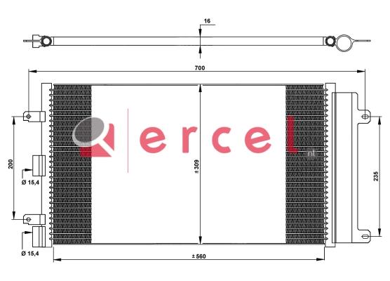Airco condensor FIC 521