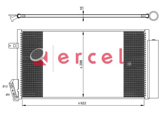 Airco condensor FIC 581