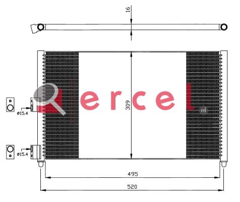 Airco condensor FIC 591