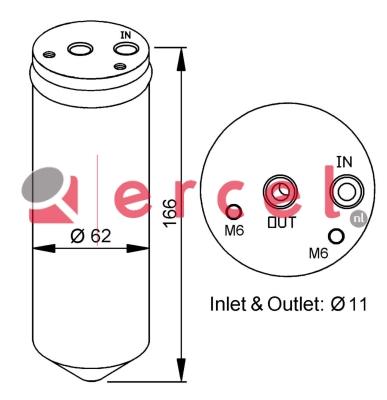 Airco droger/filter FID 005