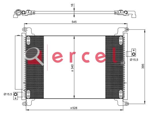 Airco condensor FIC 501