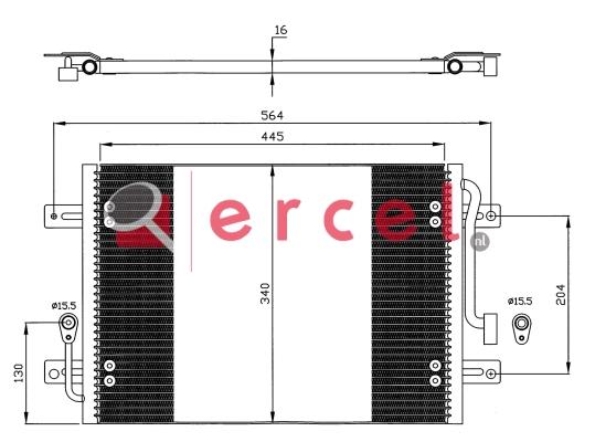 Airco condensor FIC 503