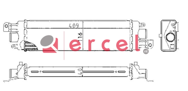 Interkoeler FII 458