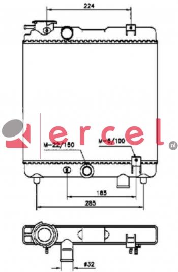 Radiateur FIR 126