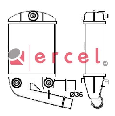 Interkoeler FII 446