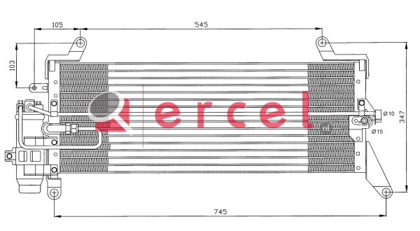 Airco condensor FIC 516