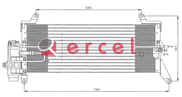 Airco condensor FIC 514