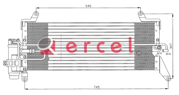 Airco condensor FIC 546