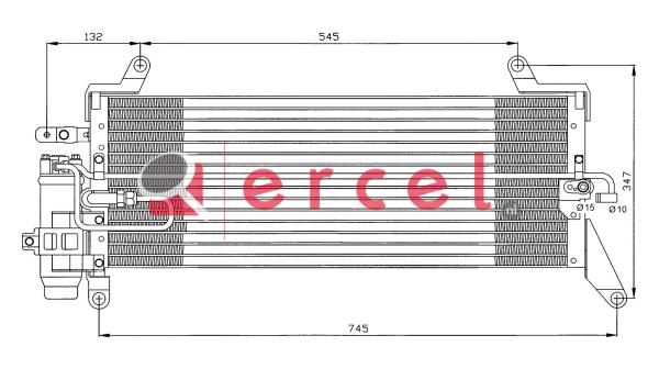 Airco condensor FIC 544