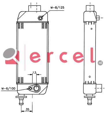 Oliekoeler FIO 316