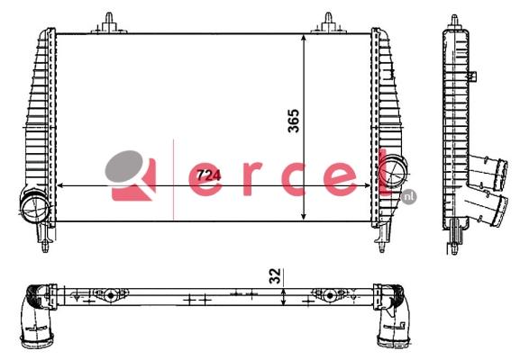 Interkoeler CII 462