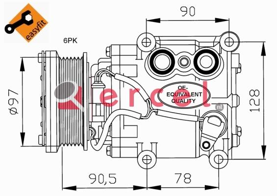 Airco compressor FOK 025