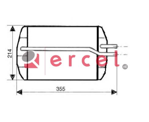 Kachelradiateur FOH 244