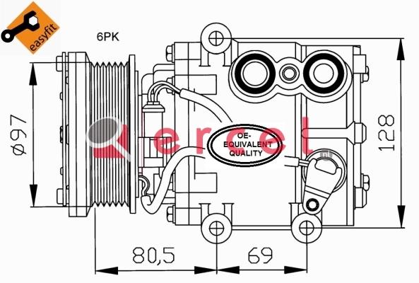 Airco compressor FOK 036