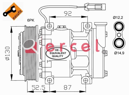 Airco compressor ARK 002