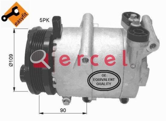 Airco compressor FOK 044