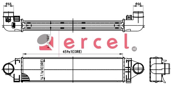 Interkoeler FOI 456