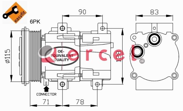 Airco compressor FOK 006