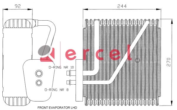 Airco verdamper FOV 001