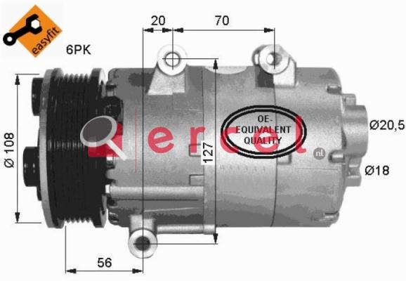 Airco compressor FOK 056