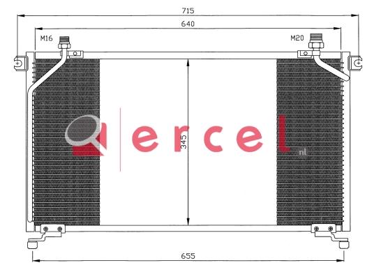Airco condensor NIC 544