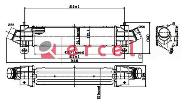 Interkoeler FOI 428