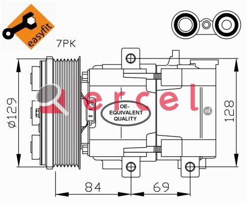 Airco compressor FOK 035