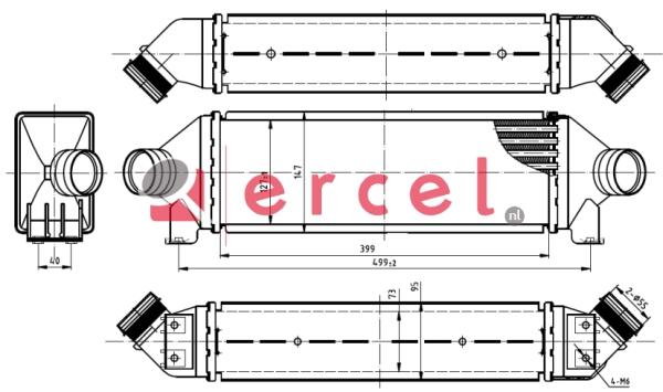 Interkoeler FOI 426