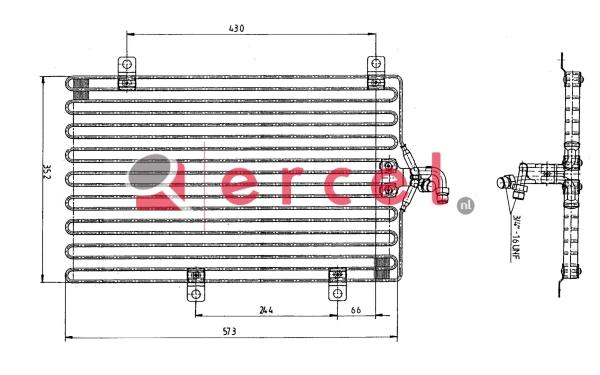 Airco condensor LCC 502
