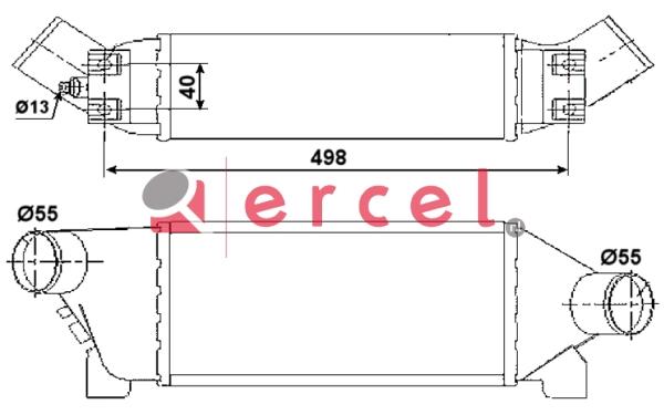 Interkoeler FOI 432