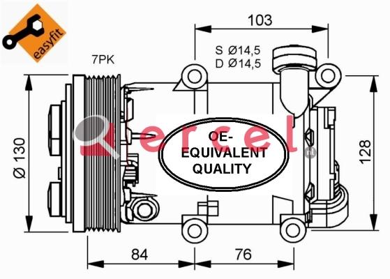 Airco compressor FOK 060