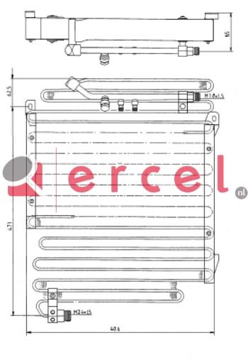 Airco condensor AUC 522