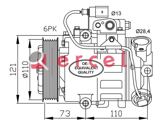 Airco compressor SEK 002
