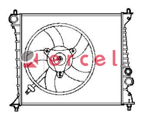 Radiateur AUR 055
