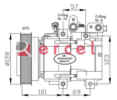 Airco compressor HYK 007
