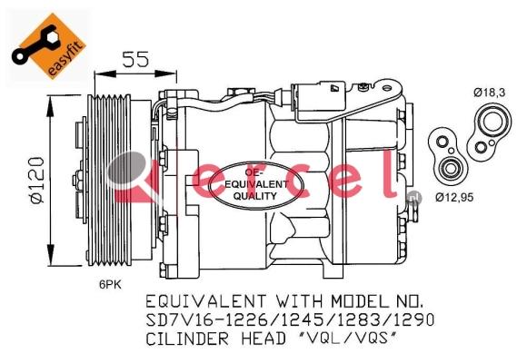 Airco compressor AUK 020