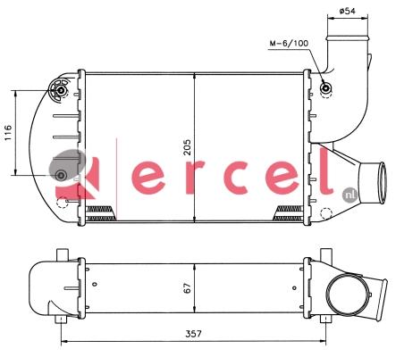 Interkoeler LCI 402