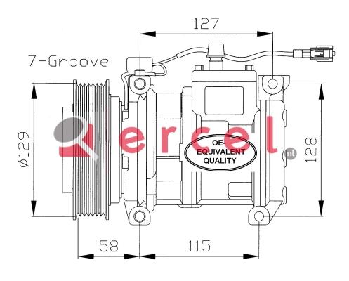 Airco compressor JPK 004