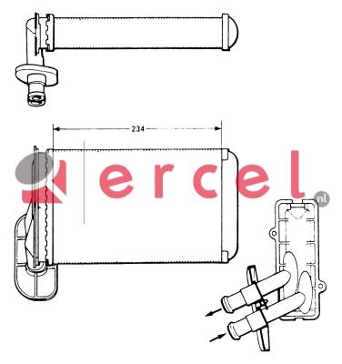 Kachelradiateur VWH 204