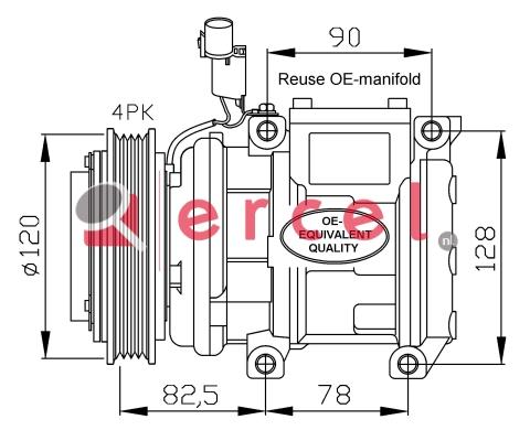 Airco compressor KAK 004