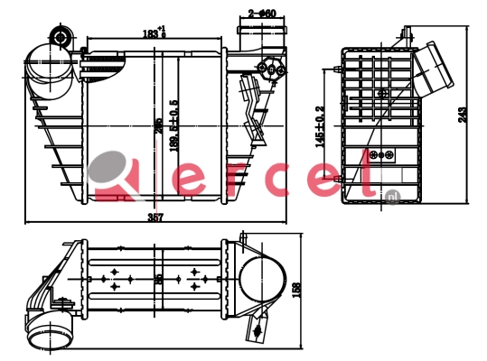 Interkoeler AUI 458