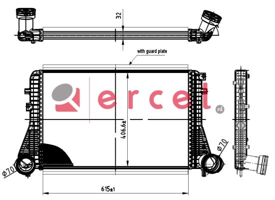 Interkoeler SEI 410