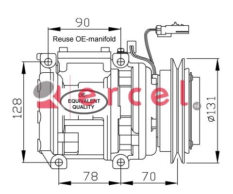 Airco compressor KAK 022