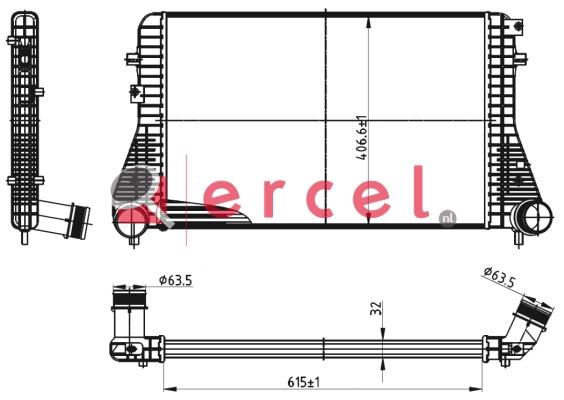 Interkoeler VWI 462