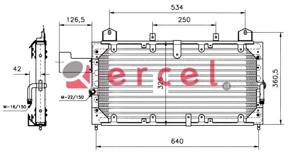 Airco condensor RVC 518