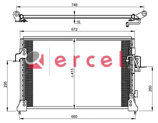 Airco condensor RVC 532