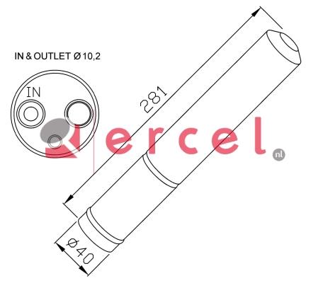 Airco droger/filter RVD 016