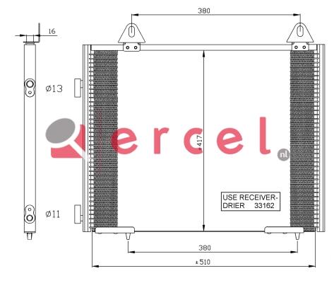 Airco condensor RVC 530