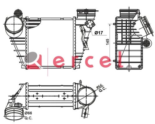 Interkoeler AUI 468
