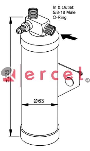 Airco droger/filter RVD 003
